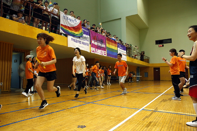 "Queer Games Spread ""No Discrimination in Sports"" Message"