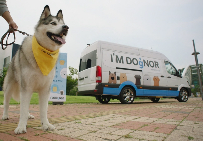 Hyundai to Hold Campaign for Canine Blood Donation