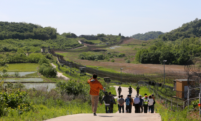 DMZ Trail to Host Special Group of Foreign Tourists This Week
