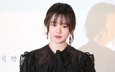 Amid Divorce Row, Actress Ku Hye-sun Temporarily Suspends Show Biz Career
