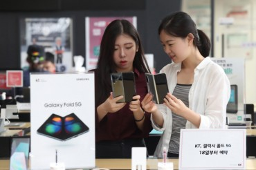 2nd Batch of Galaxy Fold Sells Out in S. Korea
