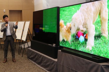 Samsung, LG Clash Again over 8K TV Technology