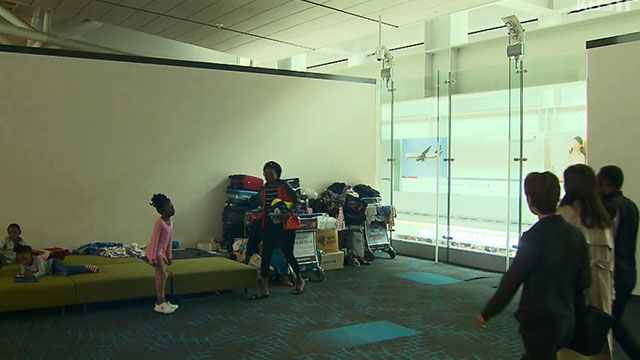 Court Rules in Favor of Airport-stranded Angolan Family Seeking Refugee Status