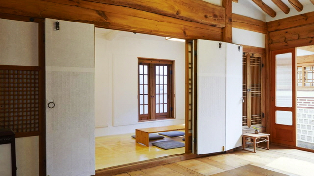 An ondol-heated room in a traditional Korean house. (image: Seoul Metropolitan Government)