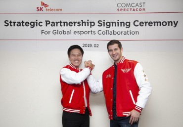 SK Telecom's esports JV with Comcast Spectator Sets Sail