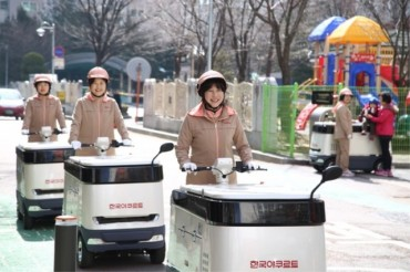 Yakult Delivery Personnel Represent a Dark Horse in the Delivery of Fresh Food