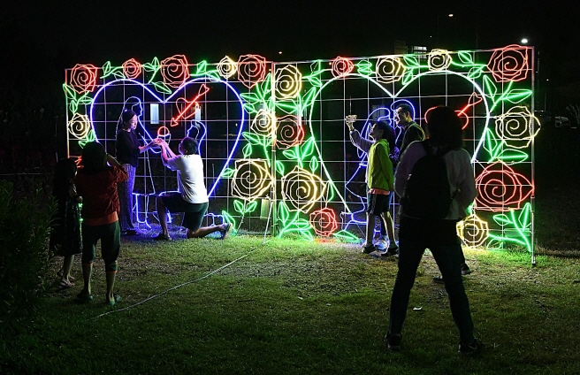 80,000 LEDs Light Up Guri's Cosmos Festival