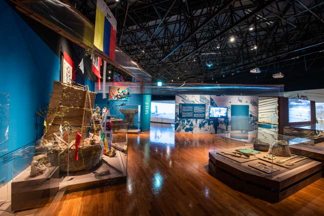 """The image of the National Folk Museum of Korea's exhibition, """"Miyok and Konbu: A Voyage into Maritime Cultures of Korea and Japan."""" (image: National Folk Museum of Korea)"""