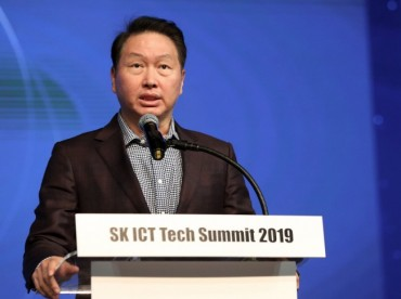 """We Should Create Social Value by Sharing Technology"": SK Chairman"