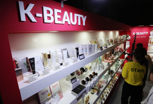 The ministry attributed price competitiveness and consumer confidence in the quality of products made in South Korea to the stellar performance. (Yonhap)