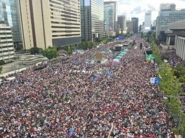 S. Koreans Hold Massive Rally Against Justice Minister