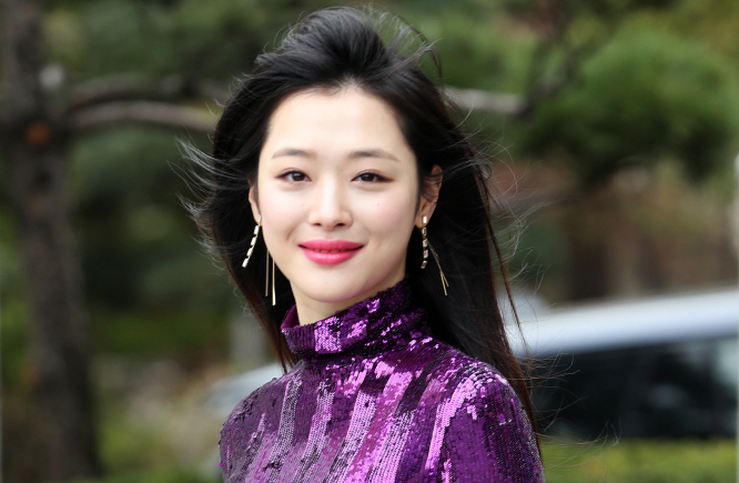 Singer-actress Sulli. (Yonhap)