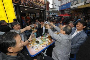 Oktoberfest Coming to Seoul's Euljiro Nogari Alley