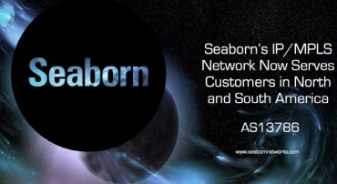 Seaborn Networks' IP Network is Now Fully Operational