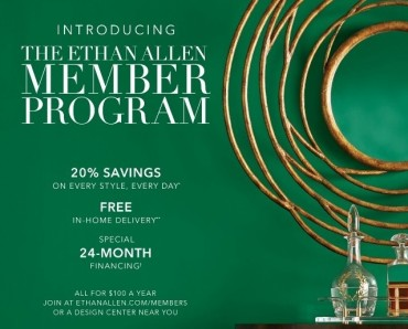 Ethan Allen Launches New Membership Program