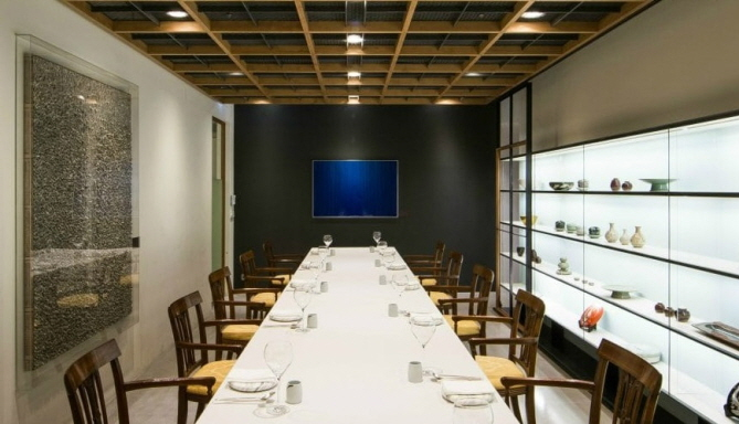 Fine dining Korean restaurant Gaon. (image: Michelin Guide)