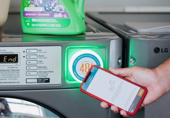LG Electronics Buys into U.S. Laundry Startup