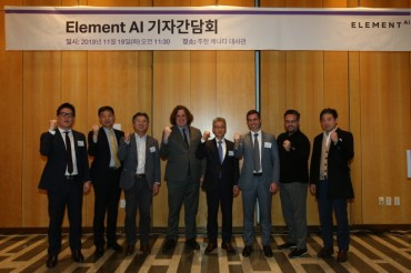 Element AI Aims for Further Partnership with S. Korean Firms
