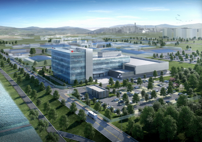 LG Chem Ltd.'s new petrochemical tech center in Osan, south of Seoul. (image: LG Chem)