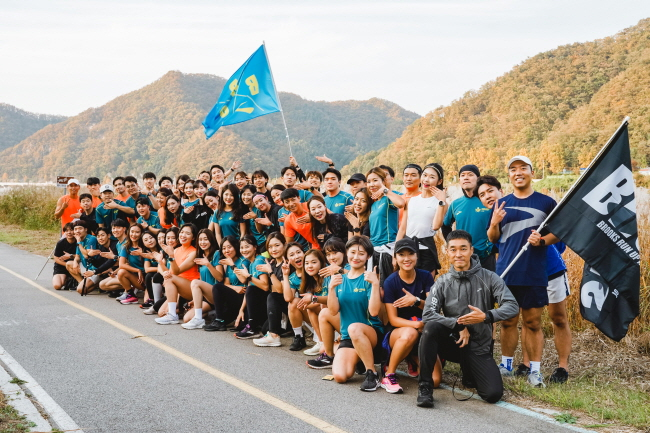 """Brooks Running launched a running training program called """"Brooks Runup"""" in February of this year. (image: Samsung C&T)"""