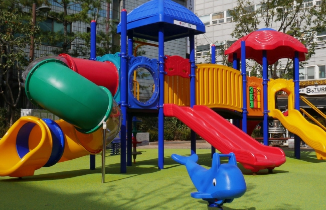 Eco-friendly Playground Established with Plastic from Discarded Cell Phones