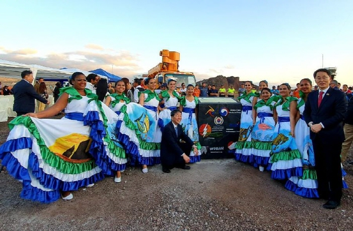 "A ground-breaking ceremony was held on Ecuador's San Cristobal Island last Thursday to build a ""Microgrid System."" (image: South Korean Embassy in Quito, Ecuador)"