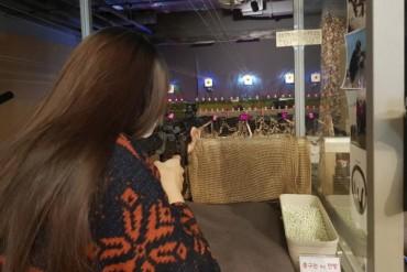 Young Korean Women Turn to BB Guns to Shoot Away Stress