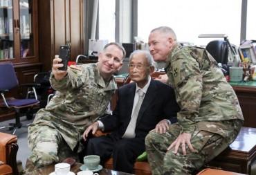 Korean War Hero Paik Sun-yup Celebrates 100th Birthday