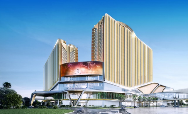 Andaz Macau is scheduled to open in first half of 2021 alongside Asia's Most Iconic & Advanced MICE Destination Galaxy International Convention Center (GICC) and spectacular events venue Galaxy Arena. (image: GEG)
