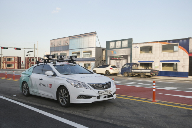 Gov't Launches Cooperative Self-driving Week to Foster Technology Development