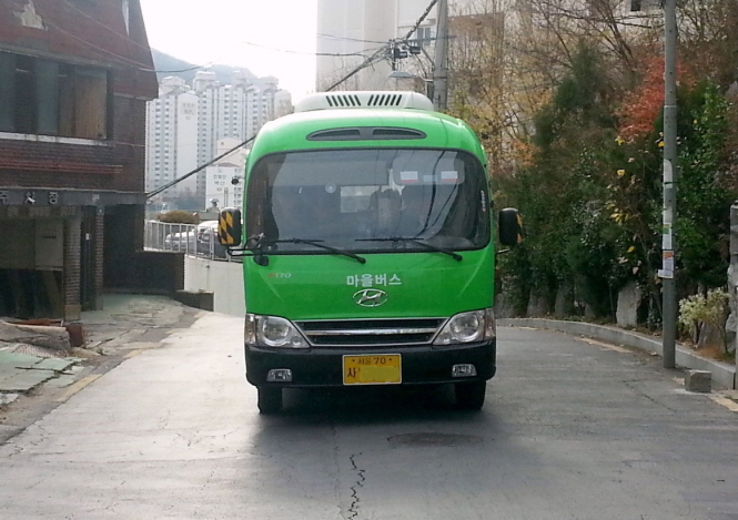 Free Wi-Fi Available on Seoul Village Buses