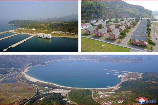 The Mount Kumgang resort on the east coast. (image: Korean Central News Agency)