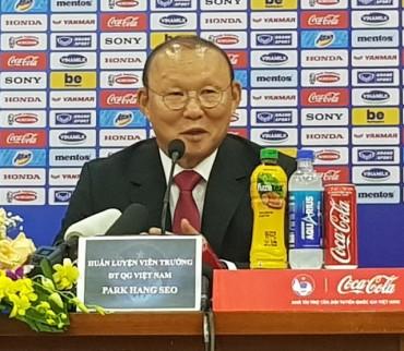 S. Korean Coach Park Hang-seo Signs Extension with Vietnamese Football