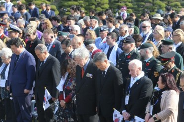 'Turn Toward Busan' Ceremony Held in Honor of Fallen U.N. Troops During Korean War
