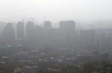 32 pct of S. Korea's Ultrafine Dust Comes from China: Study