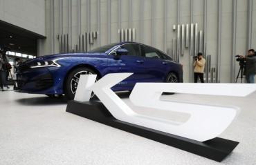 10,000 Pre-orders for Kia's New K5
