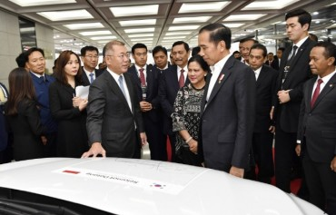 Hyundai Motor to Build $1.55-bln Plant in Indonesia