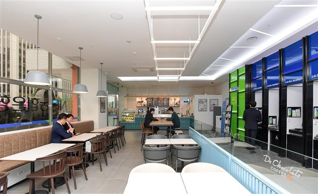 NH Nonghyup Bank's 'Cafe in Branch'. (image: NH Nonghyup Bank)