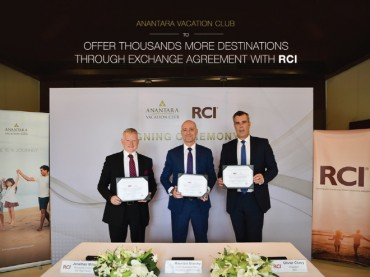 Anantara Vacation Club to Offer Thousands More Destination Through Exchange Agreement with RCI