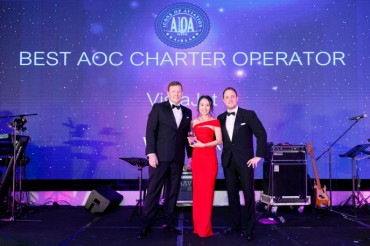 VistaJet Crowned Best Operator for the Fourth Consecutive Year