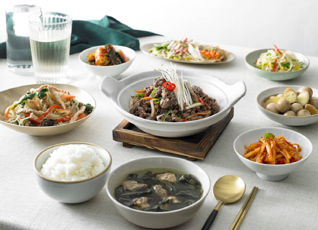 The group that had a Korean-style breakfast demonstrated the highest level of stability and learning capacity. (image: Lotte Department Store)