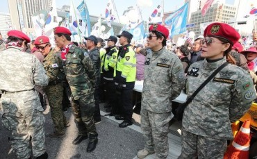Police Draw Up Enforcement Standards for Non-military Personnel Wearing Military Uniforms at Rallies