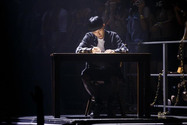 The rapper Black Nut. (image: Mnet)