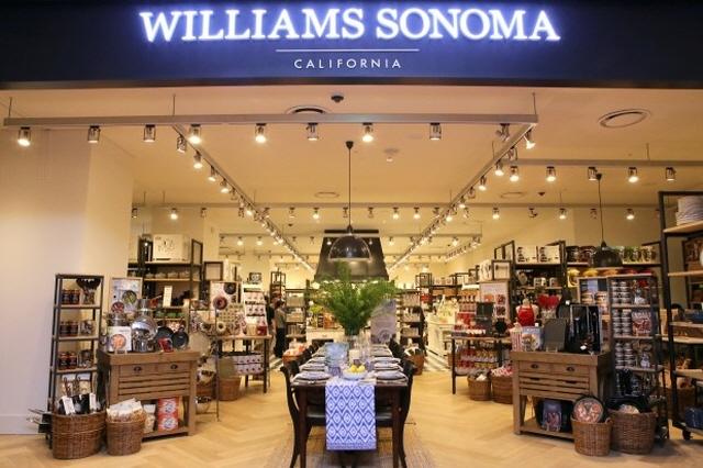 Williams-Sonoma's store in Hyundai Department Store Mokdong Branch. (image: Hyundai Livart Furniture)