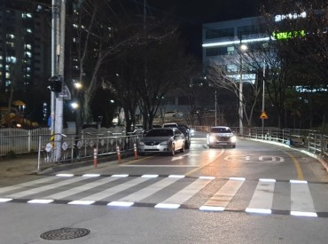 Smart Crosswalk System Installed in Gumi for Pedestrian Safety