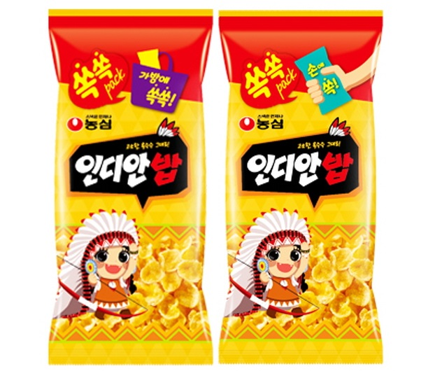 Mini Indian Corn Snack. (image: Nongshim Co.)