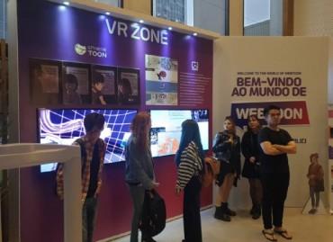 Korean Webtoon Exhibition Opens in São Paulo