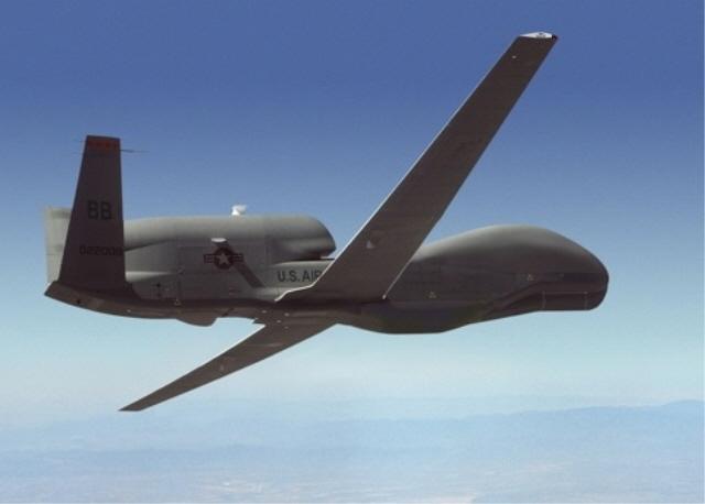 A Global Hawk surveillance drone. (image: Northrop Grumman)