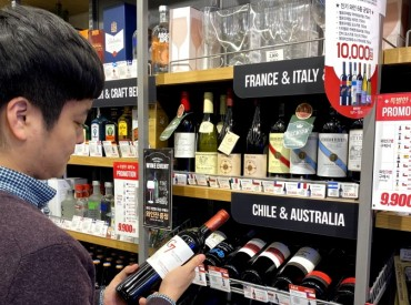 Wine Sales Dominate Retail Liquor Sales in S. Korea