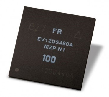 Teledyne e2v's EV12DS480 Digital-to-analog Converter Approved for Space After Passing Performance Tests Under Ionizing Radiation